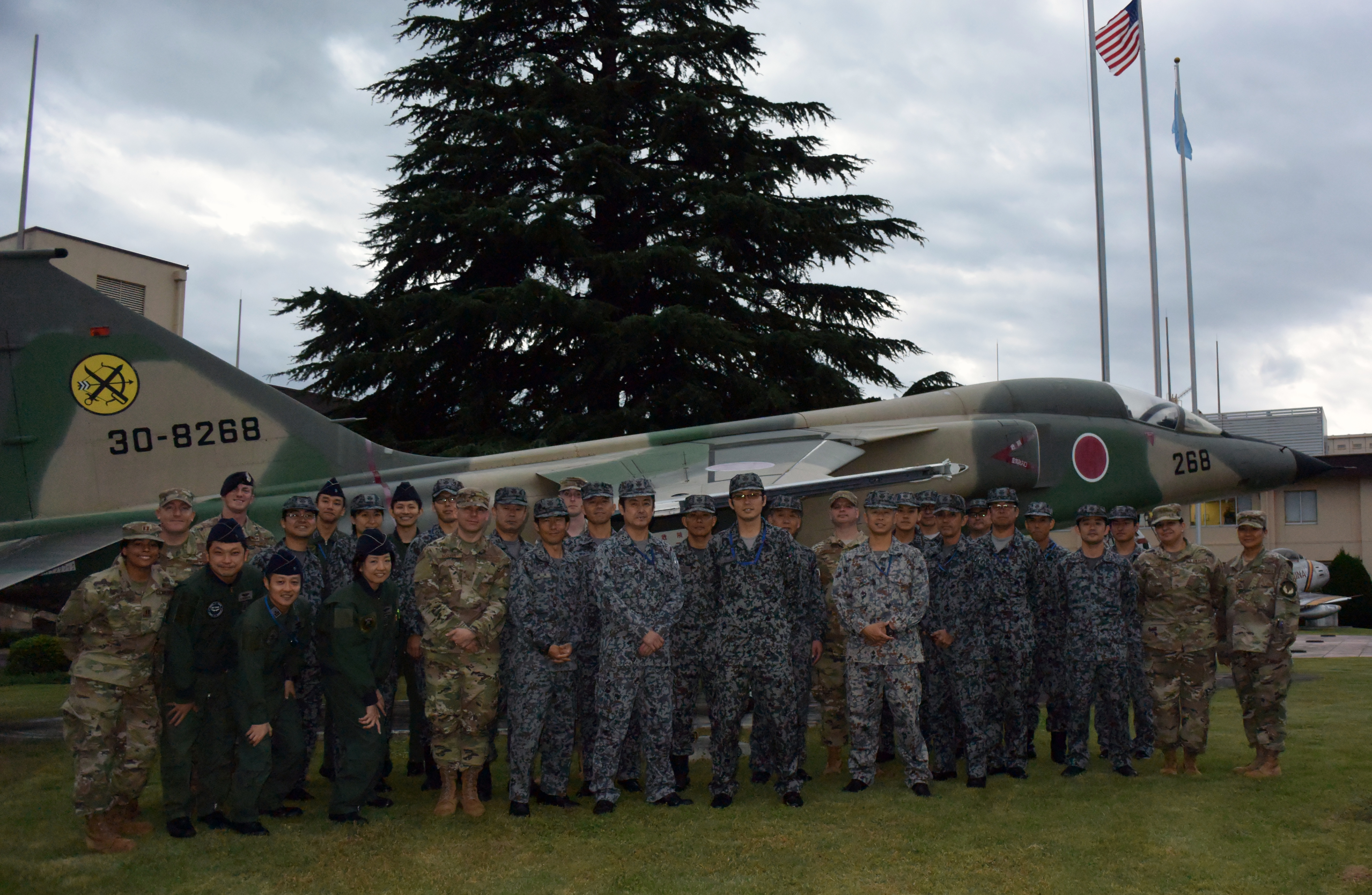 Fifth Air Force hosts bilateral contingency response exchange