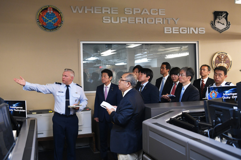 Japanese Minister for Space Policy visits Vandenberg