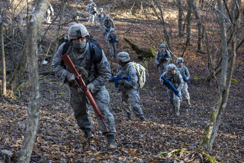 374th SFS Completes Expeditionary Field Training