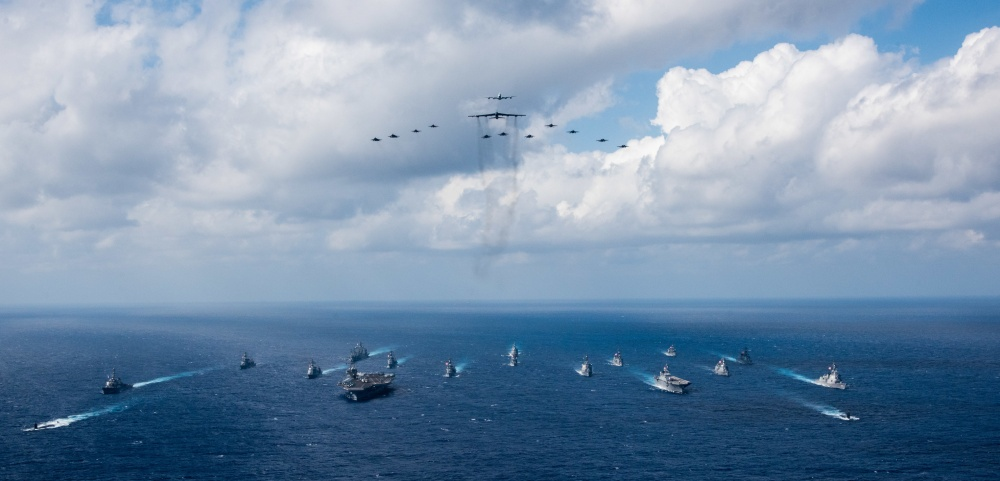 U.S. and Japanese forces deliver air superiority to exercise Keen Sword